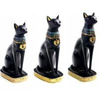 Resin Crafts Exotic Customs Egyptian Cat God Ornaments Home Decoration Gifts Home Crafts Egyptian Cat Ornaments Exotic Charm