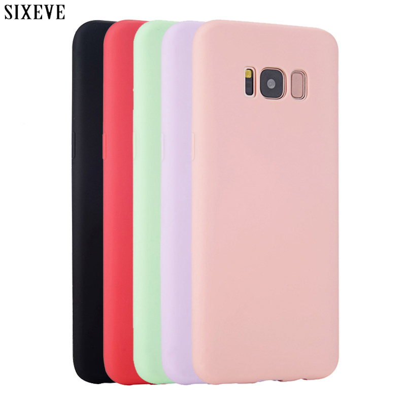 23af1d2573d SIXEVE Silicon Case for Samsung galaxy S8 S9 Plus S6 S7 edge S4 S5 neo Note  8 9 3