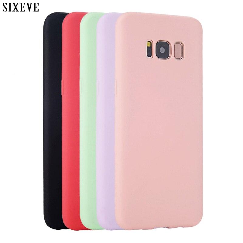 Силиконовый чехол для Samsung Galaxy S8 S9 S10 E 20 Plus S6 S7 Edge Note 8 9 10 20 Ultra J3 J5 J7 A3 A5 A7 2017