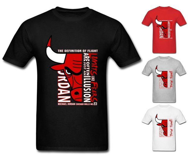 O From Neck Tee Bulls Mens Chicago Jordan In T Shirt Men Tops Air Tumblr Us14 Cool Shirts Legend 23 Michael 99new Top E2Ybe9HDWI