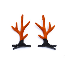 Fashion Branch Metal Antler Hair Clip Adult Children Beautiful Clips Christmas Simple Cute Accessories