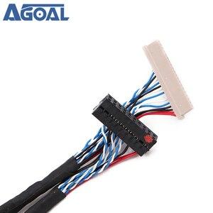 Image 2 - Uniwersalny 1ch 6 bit 20 szpilki kabel LVDS 20pin pojedynczy 6 6 bit dla 12 cal 15 cal panel LCD