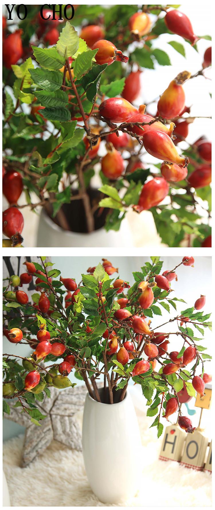 Pomegranates, berries, artificial fruit11