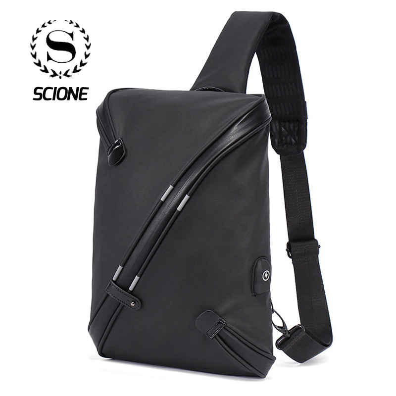New Arrived Male Chest Bag Waterproof Dust proof Large Capacity Shoulder Bag For Boys Teenager Children