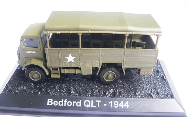 AMER 1/72 Military Model Toys Bedford QLT 1944 Diecast Metal Truck Model Toy For Collect ...
