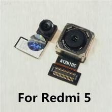 Oryginalna tylna kamera przednia dla Xiao mi Red mi 5 tylna główna duża mała kamera moduł Flex Cable dla mi Red mi 5 tanie tanio For Xiaomi Redmi 5 Kamera tylna CLOVEPURPLE