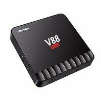 SCISHION V88 Mini Piano Smart 4GB 16GB TV Box Tops Quad Core RK3328 4K VP9 H