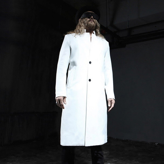 M-6XL!!Fashion wind coat dust coat item in England long coat of cultivate one's morality