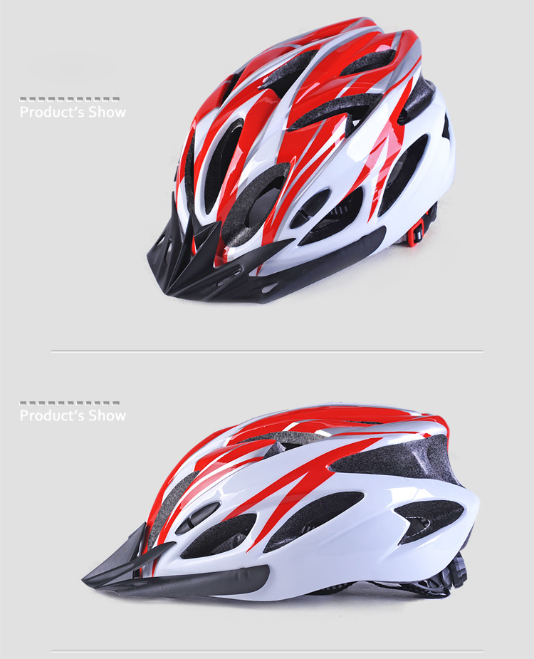 220g Ultralight Bicycle Helmet CE Certification Cycling Helmet In-mold Bike Safety Helmet Casco Ciclismo 56-62 CM-7