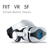 Fiit VR 5F cooling Virtual Reality Glasses 3D VR glasses haedset helmets with Gamepad controller for 4.0-6.3 inch smartphones