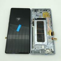 Broken LCD Display For Samsung Galaxy Note 8 mobile phone practice how to do repair Lcds glass and separate middle frame