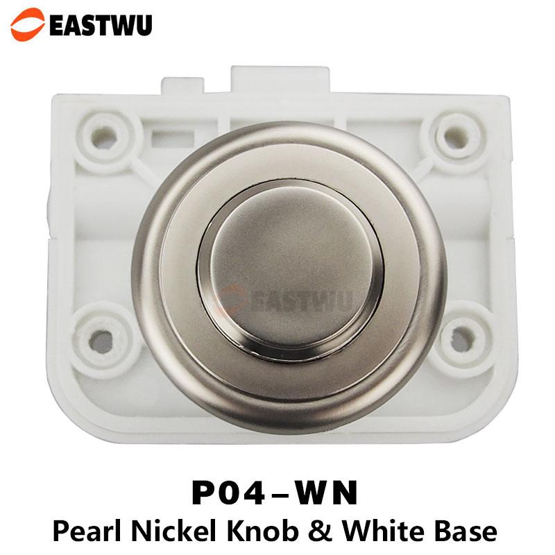 все цены на 20pcs 1 lot Eastwu RV Motorhome Caravan Furniture Drawer Cabinet Cupboard Push Lock Button with Double Latch Cam P04-WN онлайн
