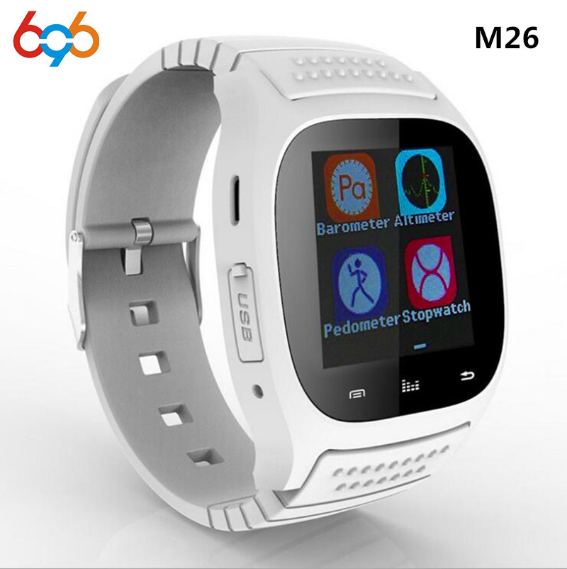 696 Hot M26 Smart Watch For Sport Perfect Compatible With Android System Bluetooth 3 0 All