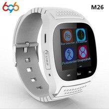 696 Горячая M26 Смарт-часы для спорта идеально подходит для работы с Android Системы Bluetooth 3,0 все подключаемых с BT3.0/плюс ежедневно
