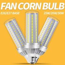 E27 Corn Bulb LED Lamp 220V E26 LED Bulb 25W 35W 50W Lampada LED Light 110V No Flicker Energy Saving Commercial Lighting 5730SMD 5500k 70w 150w 110v 220v e26 photography energy saving lamp esl cfl