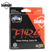2017 SeaKnight FIRE Fishing Line 300M Multi-Color Ultra-Casting PE Fire Filament Line Saltwater Floating Fishing Line 6-40LB