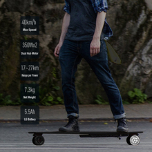 2018 Koowheel 42km/h Upgraded Electric Longboard Replaceable Dual Hub Motor Smart 4 Wheels Hoverboard Skateboard for Adult