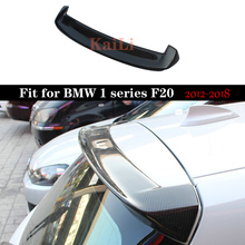 цена на F20 Carbon Spoiler For BMW 1 Series 116i 118i 125i F20 F21 Spoilers 3D Style Car Trunk Wing 2012-2018