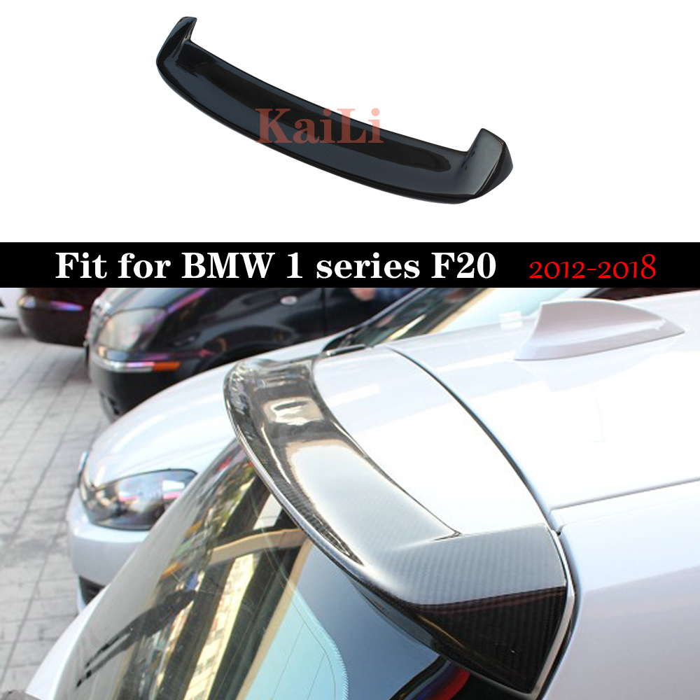 F20 Carbon <font><b>Spoiler</b></font> For <font><b>BMW</b></font> 1 Series 116i 118i 125i F20 <font><b>F21</b></font> <font><b>Spoilers</b></font> 3D Style Car Trunk Wing 2012-2018 image