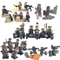 Army SWAT Military Figures & Weapon Special Force Kid Toy Gift Building Blocks Brick Lightaling