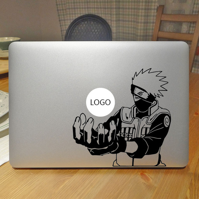 Fighting kakashi ninja laptop sticker for apple macbook air 13 decal pro retina 11 12 15