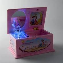 Aliexpress Hand Crank Music Box Childrens Musical Jewellery Box Kids Pink Crystal Swan Music Box