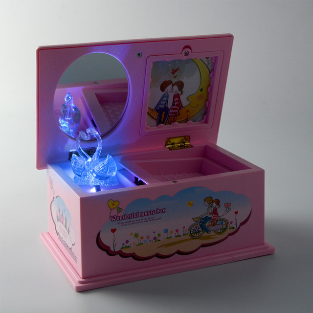 Lovely Hand Crank Music Box Gift Boxes Music Jewelry Box Kids Crystal Swan Musical Box Children & Lovely Hand Crank Music Box Gift Boxes Music Jewelry Box Kids ... Aboutintivar.Com
