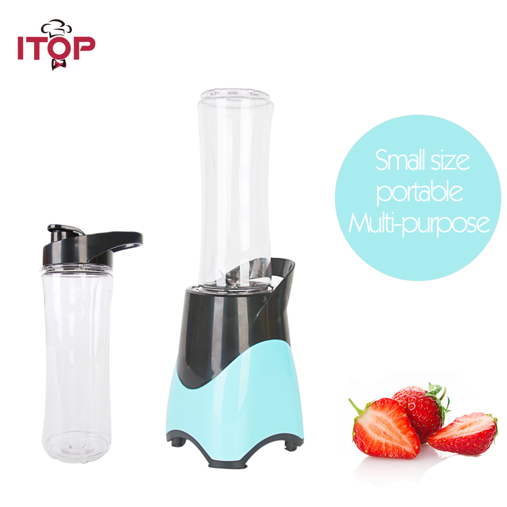 ITOP Juicer Cup Fruit Mixing Machine Portable Personal Size Electric Blender Water Bottle 600ml with Cable 300W 220VITOP Juicer Cup Fruit Mixing Machine Portable Personal Size Electric Blender Water Bottle 600ml with Cable 300W 220V