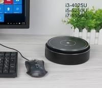 Золотой Черный Мини ПК Windows 10 Linux компьютер ПК без вентилятора мини компьютер Core i7 5550U i5 5250U 8 ГБ оперативная память HD графика 4400 HDMI USB