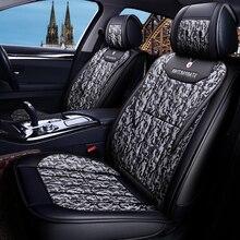 Универсальный 5 мест сиденья автомобиля сиденье протектор для ford fusion Фокус 2 mk2 mondeo mk3 mk4 kuga Edge Mondeo Ecosport Fiesta