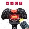 3 в 1 велосипедный замок безопасности беспроводной пульт дистанционного управления сигнальный звонок задний фонарь COB задний фонарь Аксесс...