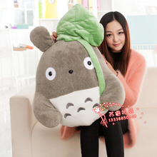 huge new plush totoro toy big stuffed leave totoro doll gift about 70cm 438