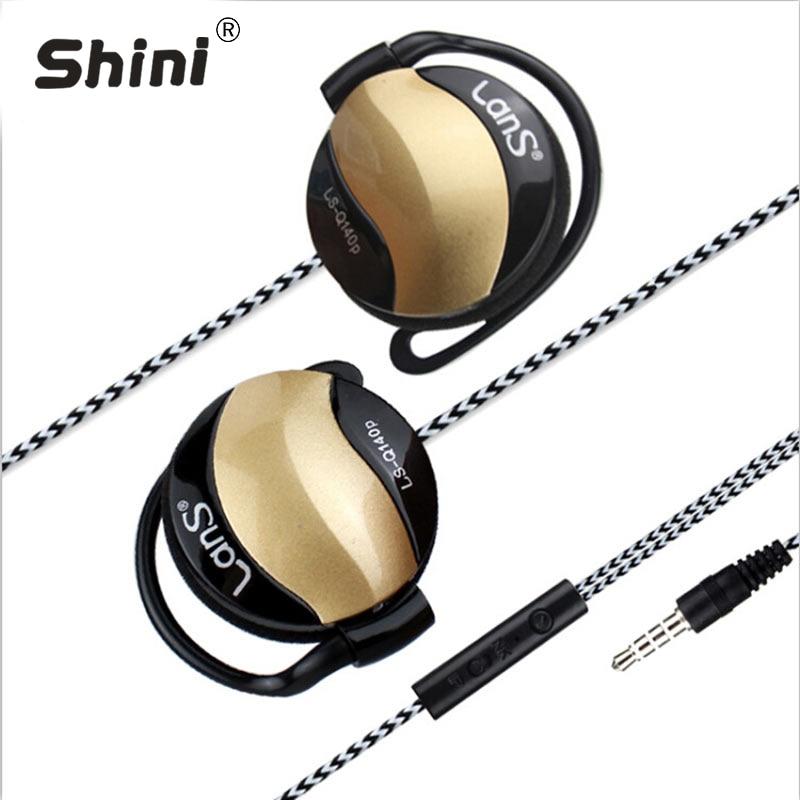 ספורט אוזניות אוזניות נגד אוזניים הפעלת אוזניות סטריאו באס סטריאו עם מיקרופון עבור כל טלפון נייד