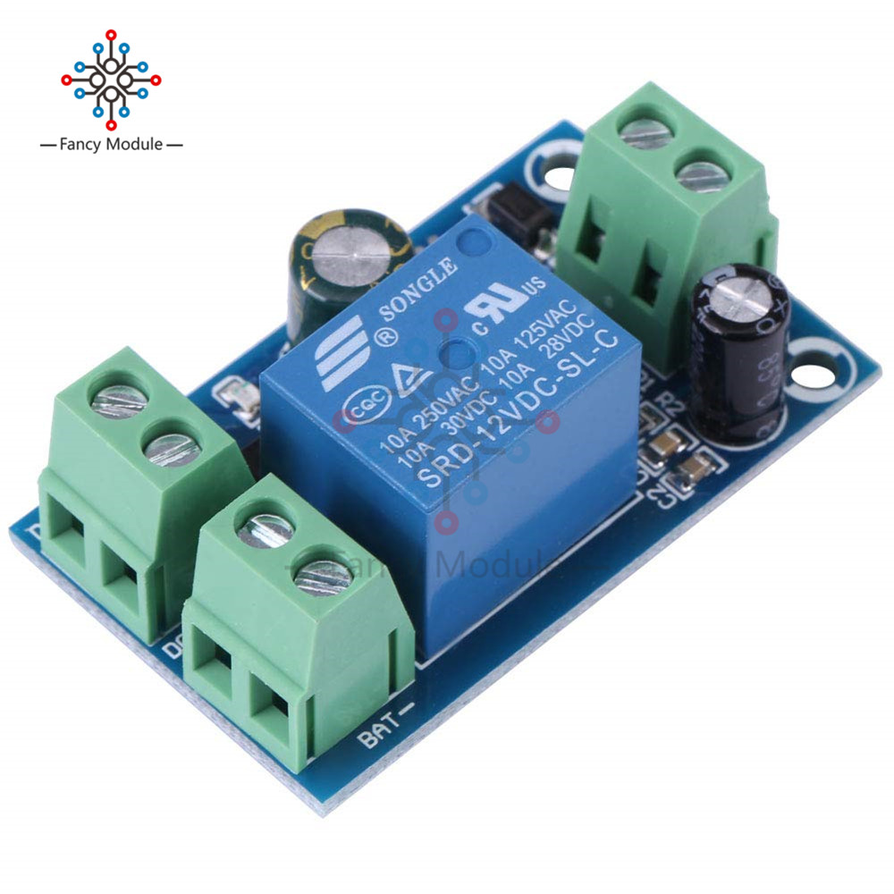 DC 12V-48V Power-off Automatic Switching Module UPS Emergency Cut-off Battery Power Supply Module Integrated Circuits