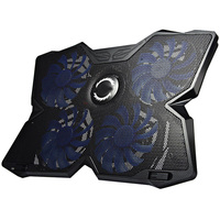 Cool Cold USB Four Fans Laptop PC Base Cooling Pad Cooler Radiator With Stand For Notebook