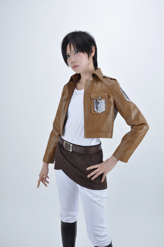 Free Shipping Attack on Titan The Recon Corps Uniform Anime Cosplay Costume