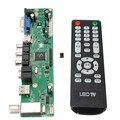 Universal 1920*1080 Resolução LCD Controlador Placa Mãe TV Motherboard VGA/HDMI/AV/TV/USB HDMI Interface de Driver Tool Kit Pro