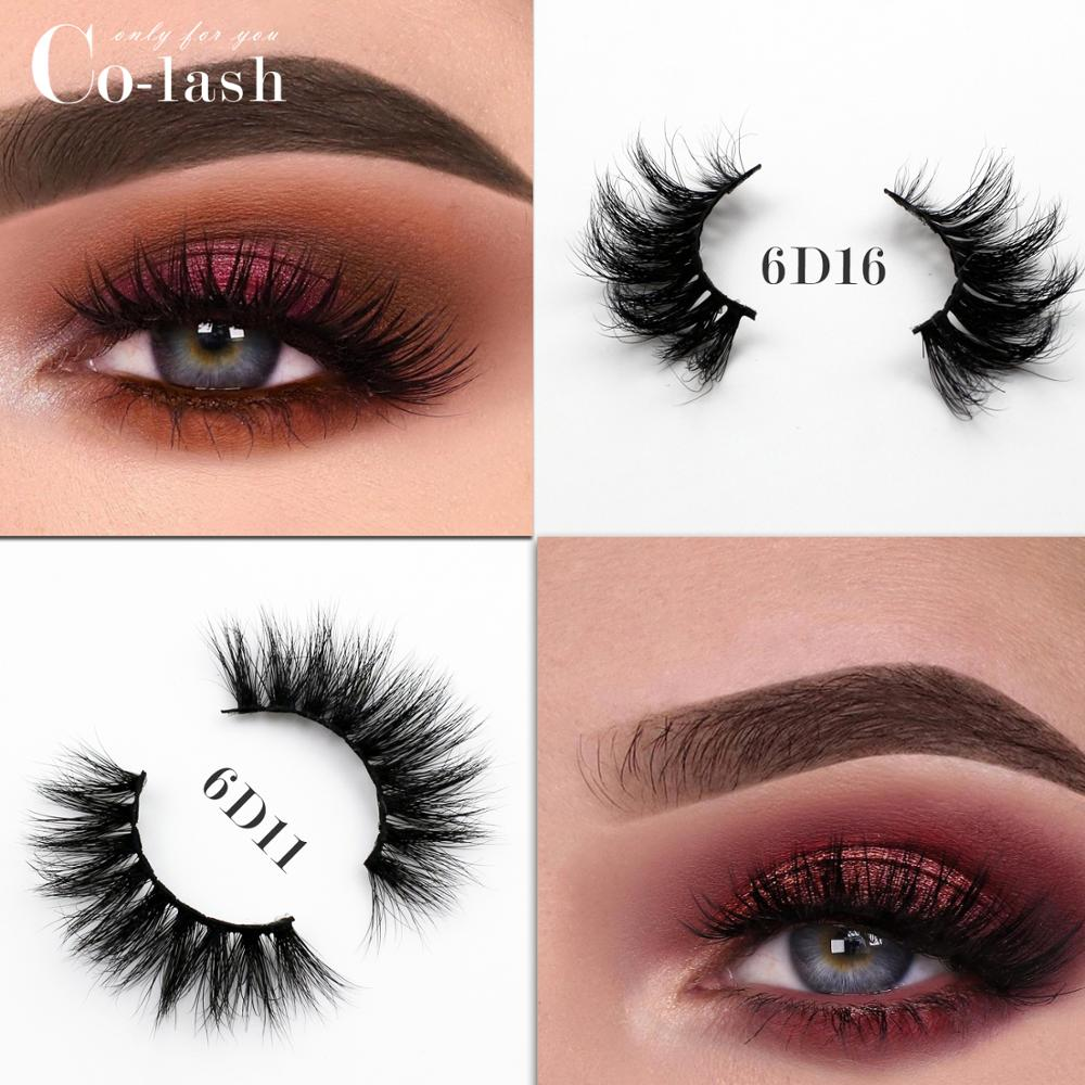 Colash Mink Eyelashes  Lightweight 3D Lashes Natural Flutter Effect False Cruelty-free Lash