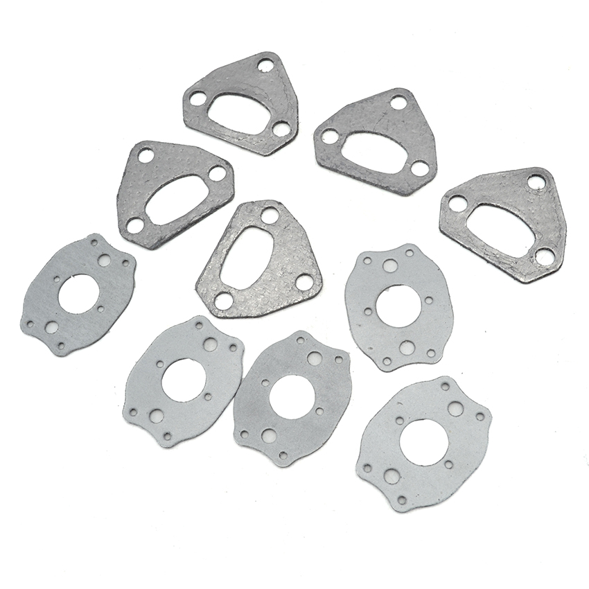 5Set Carburetor Muffler Gasket Kit For HUSQVARNA 36 41 136 137 141 142 Chainsaw Parts самсунг 5610 в луганске