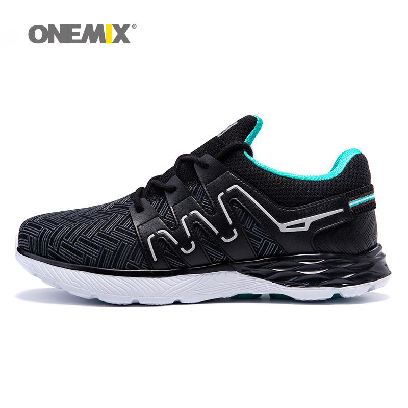 2018 Man Breathable Running Shoes for Men Trail Nice Trends Athletic Trainers Black Mens Jogging Sports Shoe Walking Sneakers onemix 2018 woman running shoes women nice trends athletic trainers zapatillas sports shoe max cushion outdoor walking sneakers