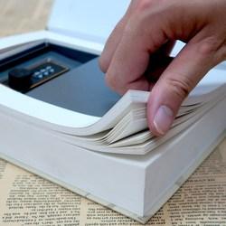 Vários livros de simulação mini escondido seguro trava de segurança caixa coin chave do armário de armazenamento de jóias caixa de dinheiro do presente das crianças