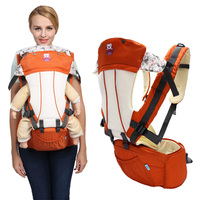 2 In 1 Baby Ergonomic Hipseat Carrier Toddler Infant Multifunctional Breathable Backpack Front Carry Horizontal 0