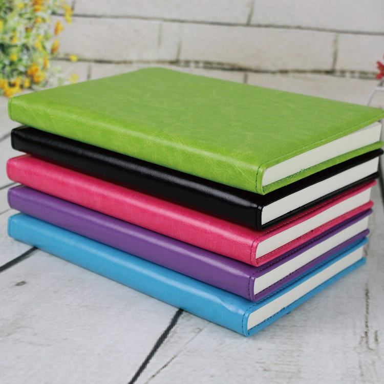 A5 100 Sheets Business Paper Notebook Notepad Leather Diary Book Zakka Journals Agenda Planner School Office Stationery Supplies cute diary notebook 112 sheets daily plan buckle pu leather a5 planner school supplies papelaria office stationery free shipping