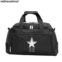 Five Pointed Star Women Men Sport Backpack Shoulder Bag Duffel Bag Multifunction Portable Sports Training Travel