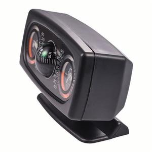 Image 2 - Instrumento multifuncional de inclinação, instrumento de medição do veículo, inclinômetro, esfera, de nível, do carro, da bússola