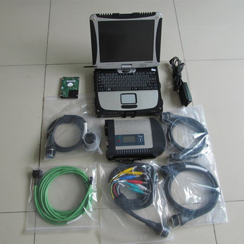 mb star c4 with laptop toughbook cf19 touch screen 2020.03 newest software 320gb hdd mb star diagnosis ready to use