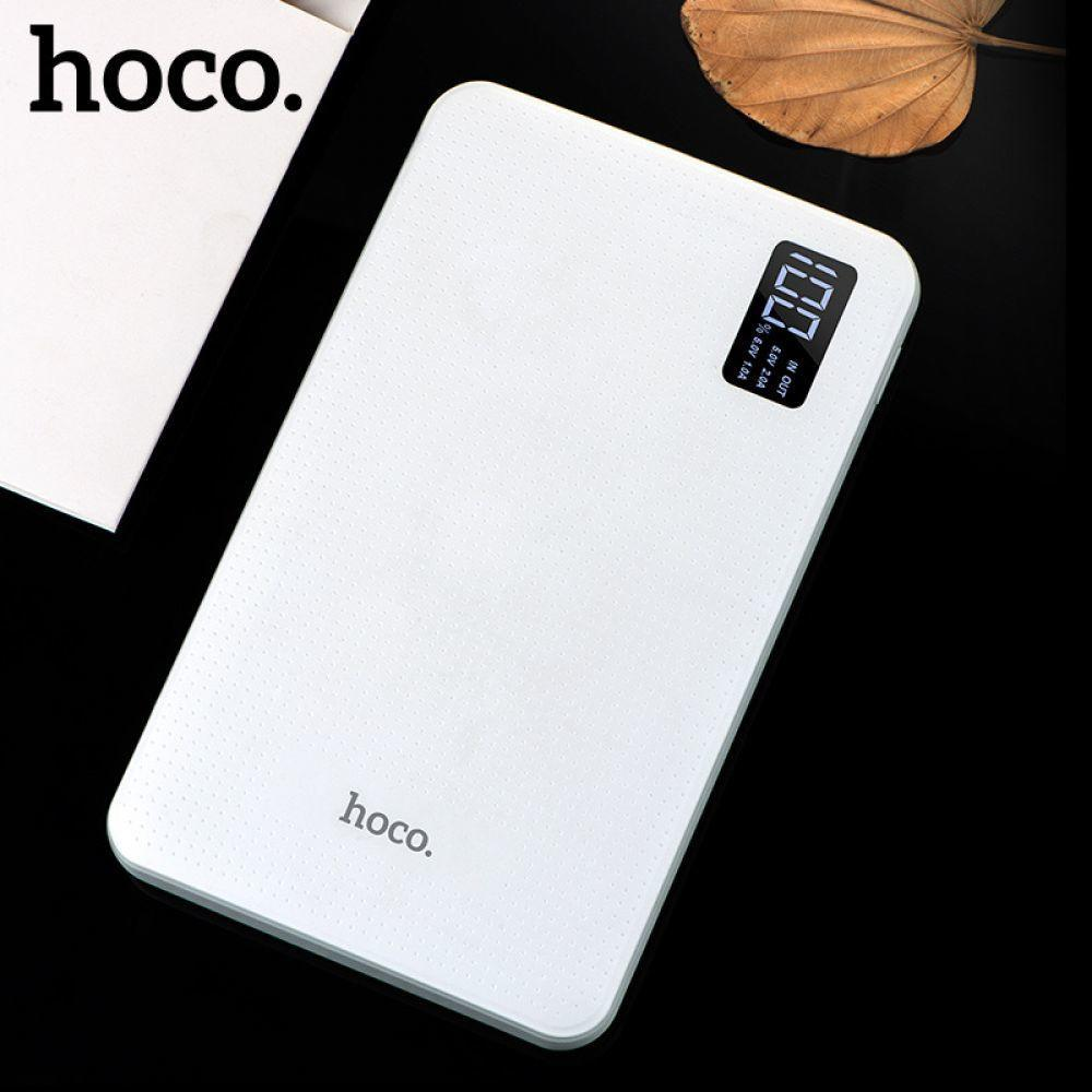 HOCO Power Bank 30000mAh 3USB Portable External Mobile Battery Charger Li Polymer Support LCD Display poverbank for all phones