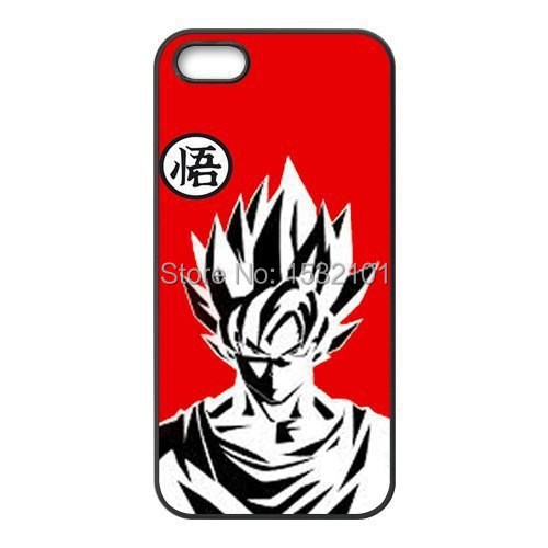 Dragon Ball Z Goku Plastic Cover Case for iPhone 4 4S 5 5S 5C 6 6S Plus Touch 5 Samsung Galaxy S3 S4 S5 Mini S6 S7 Edge Case