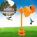 Отгоняйте устройство для птиц на 360 °, ветряные палочки, инструменты для голубей на открытом воздухе, вредители, лужайки, отпугиватель птиц, шарфы для птиц, реалистичные творческие - фото