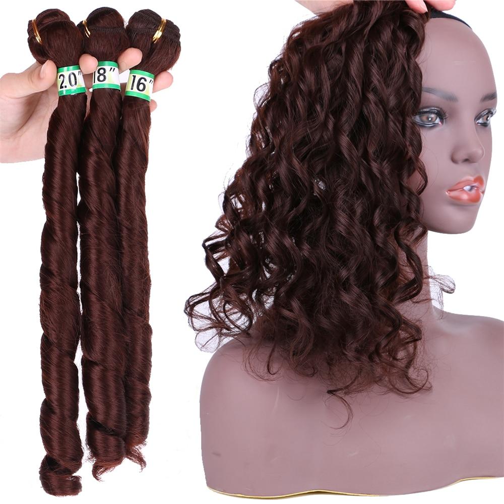 Feixes de cabelo Encaracolado Preto Natural #2